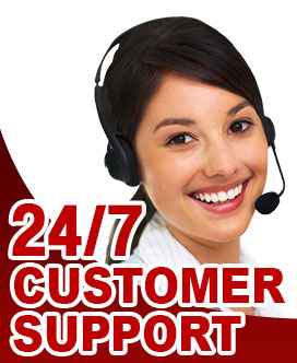 24/7 fast reliable customer support